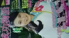 小島瑠璃子、京キララ振り袖カタログ