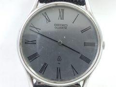 8939/SEIKOセイコー★ヴィンテージクォーツモデルメンズ腕時計渋いグレーダイヤル!