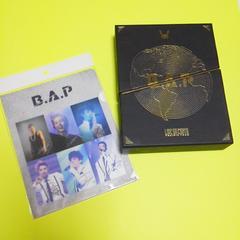レアB.A.P3枚組DVD【日本盤】LIVE ON EARTH~ヒムチャン/特典直筆サイン