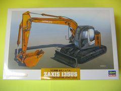 ハセガワ 1/35 WM01 日立建機 油圧ショベル ZAXIS 135US 新品