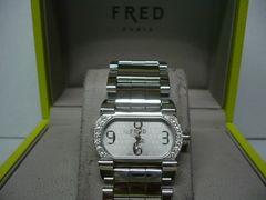 フレッド  美品 ムーブ 1 ダイヤベゼル  レディース時計