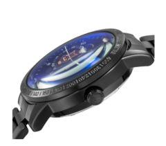 腕時計 スケルトン ブラックバンド 自動巻き