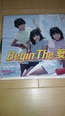 稀少EPレコード!ザ・チェリーズ「Begin The 夏」☆