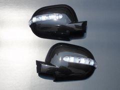 LEDウィンカーミラーカバー W163 純正交換タイプ黒