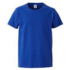 4.7オンス ファインジャージー Tシャツ ロイヤルブルー Lサイズ