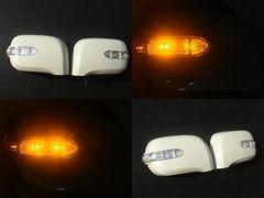日産 LEDウィンカードアミラーカバー セレナC24