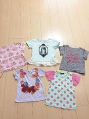 1円 ◆ 美品 ◆ kids 半袖 5点セット! 110cm
