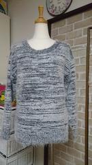 美品☆RyuRyu セーター グレーカラー Mサイズ