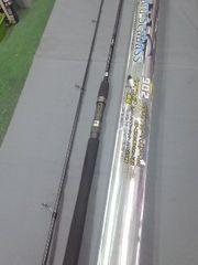 シーバスロッド ベイハード902(クインコーラル)カーボン軽量