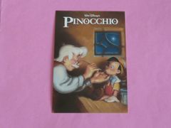 ディズニーストア ピノキオ ポストカード
