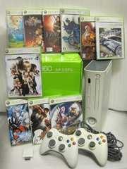 Xbox360☆本体一式+ソフト10本セット☆動作OK