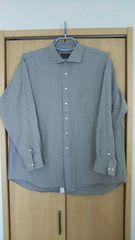 美品!格安!ストライプの長袖シャツ3L/大きいサイズ