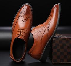 4色 春夏 メンズビジネスシューズ 紳士靴  24cm~29cm/AK262