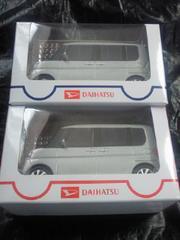 軽自動車 DAIHATSU ダイハツ TanTo タント カスタム プルバックカー シルバー 2台