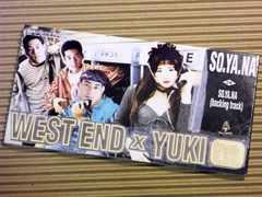 [8cmCDS] SO.YA.NA WEST END × YUKI from O.P.D.