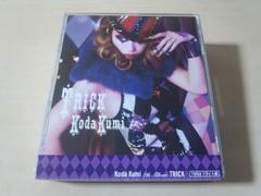 倖田來未CD「TRICK」DVD2枚付き初回限定盤●