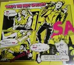 3曲入りCD SA(エスエー)フーズ.ザ.ネクスト.アップスタート?
