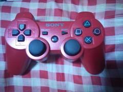赤色の「SONY純正PS3ワイヤレスコントローラー」ジャンク品