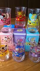ディズニーグラス6個セット!日本製品!非売品!キリン景品!全種