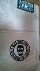 used 「RAD custom」 スカル刺繍*かっこいいパンツ 160