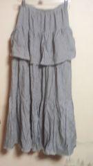 ピンクハウス スカート 細かいギンガムチェック 白黒