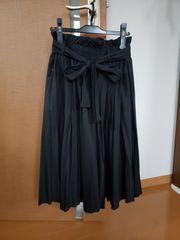 riche glamour リシェグラマー フレアスカート ネイビー M