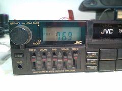 JVC RX725 1DIN カセットチューナー 旧車 レトロ