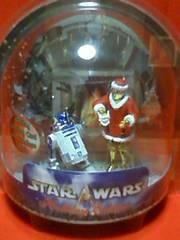 ☆スターウォーズ☆2002☆Cー3PO(サンタ)&R2-D2(トナカイ)2体セット☆新品未開封☆