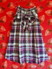 チチカカ 美品 ネルマキシスカート