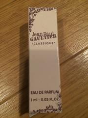 ジャンポールゴルチェ 香水 試供品