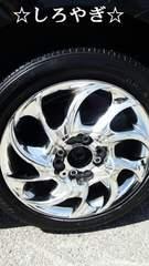 メッキホイール165/55R14タイヤ付き2本セットマルチ軽自動車ワゴンRムーブ