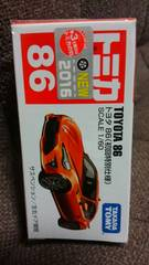 トミカ86   トヨタ新型86  初回特別仕様 未開封 新品