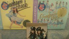 激安!☆AKB48/ギムカムチェック☆初回盤A・B/2枚セット新品同様/生写真付
