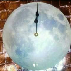 新品 月 ムーン 掛け時計 月夜 惑星 掛時計