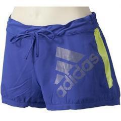adidas アディダス W RC ショーツ L ブルー/X36383