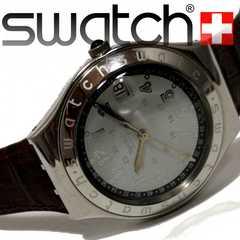 モバオクで買える「良品 1スタ★スウォッチ/Swatch IRONY【スイス製】腕時計」の画像です。価格は11円になります。