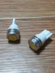 LED T10ウェッジ球(超白発光SMD/1W級)2個セット