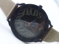 6425/ヒステリックグラマー状態良好★カーキラバーブレスレットが良いメンズ腕時計
