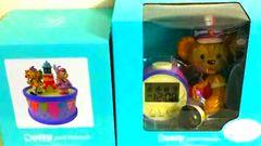 即決ディズニー35周年 目覚まし時計&オルゴール  ダッフィー