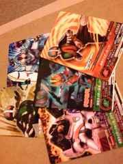 仮面ライダーARカードダス非売品5枚セット/市場流通ひと月ほど♪