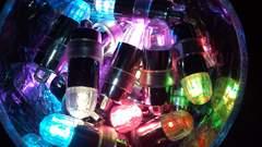 ☆ LED* イルミネーション☆  専用電池30個付き◆color:ブルー色