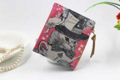 送料無レディース 可愛い短財布二つ折り大容量wallet10-E