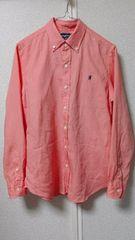 ◆Gymphlexジムフレックス◆リネンボタンダウンシャツ