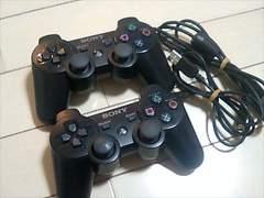 PS3・デュアルショック3・ブラック・2個セット