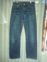 リーバイス501色落ちジーンズ