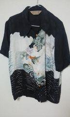 クローズ 激レア 桐島ヒロミモデル アロハ 金太郎 シルク 抱き鯉
