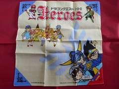 激レア!ドラゴンクエスト/ヒーローズ/ハンカチ(1991)/鳥山明