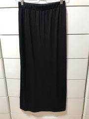 UNIQLO ユニクロ マキシ丈スカート ブラック S