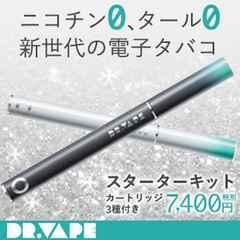 【スターターキット (ホワイト/グレー)】VAPE 電子タバコ?