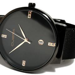 新品・未使用 CUENA【8Pジルコニア】メンズ腕時計